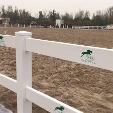 brown vinyl horse fence. UV Resistant 2 Rails White PVC Vinyl Horse Fence Brown