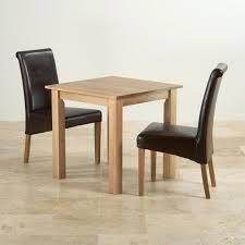 Amazoncom  6Piece Solid Wood Dining Set Dark Oak  Table Solid Oak Dining Room Table