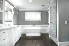 grey bathroom color ideas. Unique Bathroom Calm White And Grey Bathroom Schemes  Color Tile Paint  Intended Ideas O