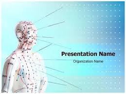 oriental powerpoint template free alternative medicine acupuncture medical powerpoint template