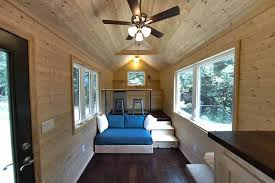 Small Picture Loft less 160 sq ft tiny house for people who hate climbing