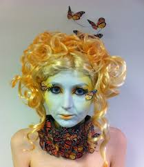 i turned my friend into effie trinket from the hunger games today