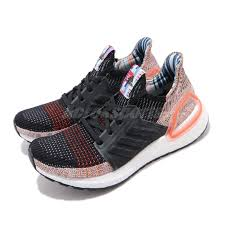 Details About Adidas Ultraboost 19 W Black White Solar Orange Women Running Shoes G54017