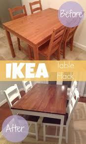 furniture hack. diy ikea hack aus der jokkmokk tischgruppe wurde im handumdrehen ein coole sitzgelegenheit angesagten furniture