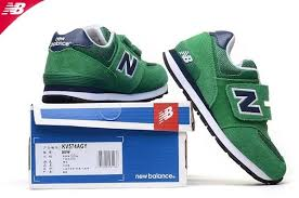 new balance kids velcro. new balance 574 kv574agy velcro suede mesh trainers - kids green navy