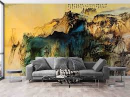 3D Traditional Chinese Painting Wall ...