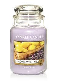 Yankee Candle <b>Свеча ароматическая</b> Лимон и Лаванда <b>Lemon</b> ...