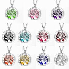 housweety aromatherapy essential oil diffuser necklace
