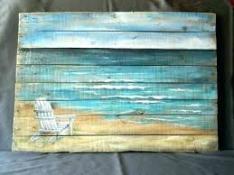 beach themed wall decor beach themed metal wall art theme decor wood pallet