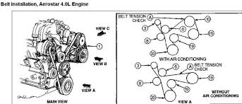 need fan belt schematic 4 0l and tensioner ford explorer and are you using a breaker bar on the tensioner