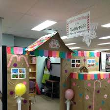 office christmas decorating themes. Cubicle Decorating Office Christmas Decoration Contest Ideas . Themes