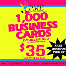1000 Business Cards Printing Made Easy