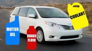 Motor Oil & Fluid Type for TOYOTA SIENNA 2003-2017 - YouTube