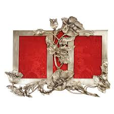 silver antique picture frames. Sterling Silver Art Nouveau Double Picture Frame Antique Frames