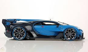 The team drew inspiration for this car from the. Bugatti Vision Gran Turismo Gt Blue Carbon Blue Looksmart 1 12 No Mr 1868626470