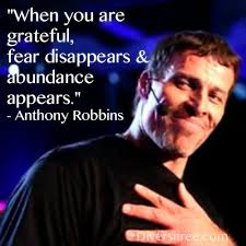 Image result for attitude of gratitude images tony robbins