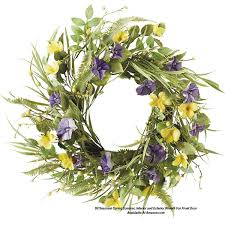 spring wreath for front doorFront Door Wreaths to Beautify Your Home