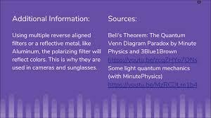 Quantum Venn Diagram Paradox Science Fair Andrea Reas Blog