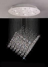 cube floating crystal pendant chandelier for amazing household crystal pendant chandelier prepare