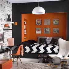 ... Exquisite use of black in the contemporary bedroom [From: Photographie  Panotonic]