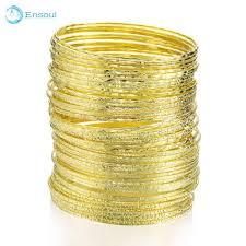 Ensoul <b>New Fashion</b> Top Style <b>50Pcs</b>/Lot Charm Gold <b>Bracelets</b> ...