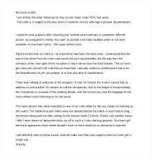 complaint letter citybirds club complaint letter sample bad service customer complaint letter complaint letter example to company