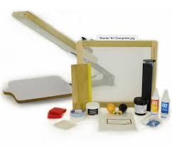 screen printing starter kit