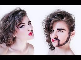 half woman half man makeup tutorial nk anese