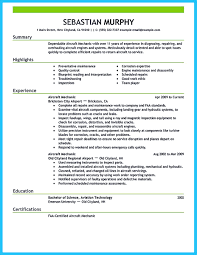 Aviation Resume Sample To arrange an aviation resume is different from other resumes 1