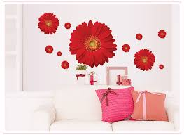 colorful flower fl wall stickers living room bedroom wall decals home decor sticker kitchen mural wedding decoration poster planet decals planet
