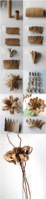 Wonderful DIY Amazing Flower Toilet Paper Roll Art | Easy paper ...