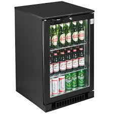 osborne ecold 30es glass door undercounter bottle cooler black