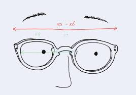 Sunglasses Frame Size Chart Glasses Size Guide Seen Opticians