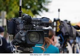 sony tv camera. sony television camera - stock image tv