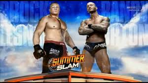 wwe summerslam 2016 randy orton vs brock lesnar official match card hd you