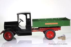 Vintage sturdi toy trucks