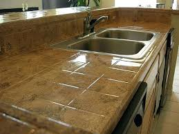 best kitchen countertops brown tile kitchen