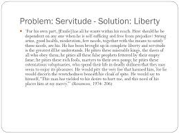 problem solution servitude liberty rousseau essay question how  4 problem