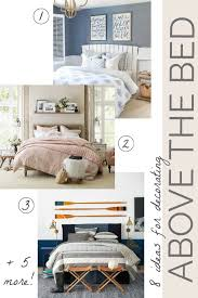 Opting for a 3d element above your bed will make the decor visually jump off the wall in your bedroom. Above Bed Decor Eight Ideas For Decorating That Awkward Space Driven By Decor