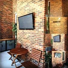 mounting tv on brick mounting on brick enchanting stone fireplace