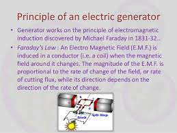 electric generator how it works. 5. Principle Of An Electric Generator \u2022 Generator Works How It S
