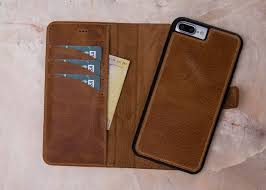iphone 8 plus magnet wallet case iphone 8 plus detachable image 0