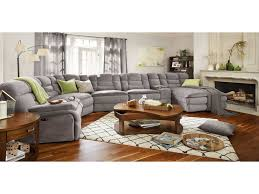value city furniture living room sets elegant big softie 6 piece power reclining sectional with right facing of value city furniture living room sets