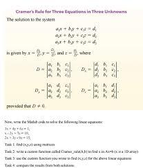 matlab question in linear algebra