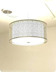 copper dining room light fixtures remarkable drum lighting large pendant metal white shade chandelier l