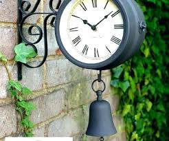 outdoor clock on stand outdoor clock on a stand garden clocks outdoor garden clocks medium size outdoor clock