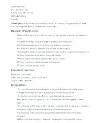 Freelance Writer Resume Objective Freelance Writer Resume Sample My Resume Sample Ground Worker 94