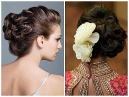 Indian Hair Style 16 spectacular indian bridal hairstyles for short and curly hair 5341 by wearticles.com