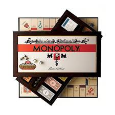 Wooden Monopoly Board Game Classic Monopoly Board Game Editions based on Atlantic City 56