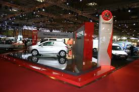 Automotive Display Stands Car Plinths TCF Sheet Metal Fabrications 3